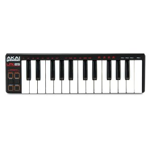 MIDIキーボード AKAI アカイプロフェッショナル LPK25 LAPTOP PERFORMANCE KEYBOARD AP-CON-009 ネコポス不可|ec-kitcut