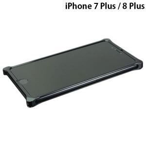 iPhone8Plus バンパー GILD design ギルドデザイン iPhone 8 Plus / 7 Plus ソリッドバンパーポリッシュブラック GI-412PB ネコポス不可|ec-kitcut