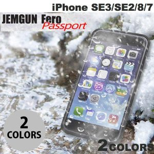 JEMGUN iPhone SE 第2世代 / 8 / 7 Fero Passport 防水 防塵 耐衝撃ケース ジェムガン ネコポス送料無料|ec-kitcut