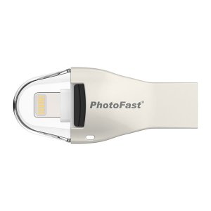 SDカードリーダー、ライター PhotoFast フォトファースト 4K iReader iOSデバイス用 micro SD カードリーダー 4KiReader ネコポス不可