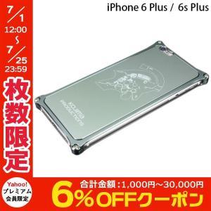 iPhone6sPlus バンパー GILD design ギルドデザイン Kojima Productions Logo Ver. for iPhone 6 Plus / 6s Plus ガンメタリック ネコポス不可|ec-kitcut