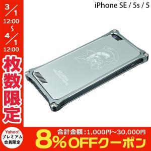 iPhoneSE ケース GILD design ギルドデザイン iPhone SE / 5s / 5 Kojima Productions Logo Ver. ガンメタリック GIKP-262GR ネコポス不可|ec-kitcut