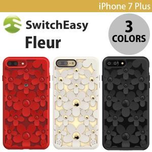 iPhone7Plus ケース SwitchEasy iPhone 7 Plus Fleur フルール スイッチイージー ネコポス可 花柄 ec-kitcut