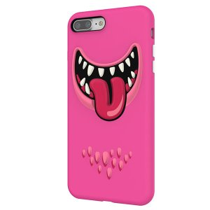 iPhone8Plus/ iPhone7Plus ケース SwitchEasy スイッチイージー iPhone 8 Plus / 7 Plus Monsters Pink SE_I7PCSTPMT_PK ネコポス不可|ec-kitcut