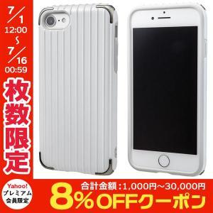 iPhone8 / iPhone7 スマホケース GRAMAS グラマス iPhone 8 / 7 COLORS Rib 2 Hybrid Case White CHC486WH ネコポス送料無料|ec-kitcut