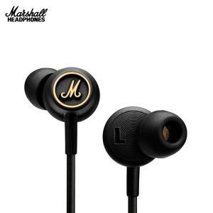 イヤホン Marshall Headphones マーシャル ヘッドホンズ MODE EQ カナル型イヤフォン Black and Brass ZMH-04090940 ネコポス不可 国内正規品|ec-kitcut