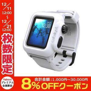 Apple Watch 防水ケース Catalyst カタリスト Apple Watch 38mm Series 2 / 3 完全防水ケース ホワイト CT-WPAW1638-WT ネコポス不可|ec-kitcut