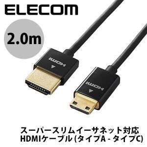 HDMIケーブル エレコム ELECOM 4K2K 3DフルHD イーサネット対応HIGHSPEED...