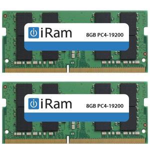 iMac用メモリ iRam アイラム PC4-19200 DDR4 2400MHz SO.DIMM 16GB 2x8GB IR8GSO2400D4W ネコポス不可|ec-kitcut