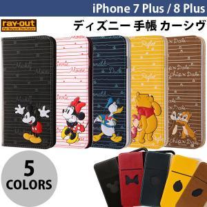 iPhone8Plus/ iPhone7Plus ケース Ray Out iPhone 8 Plus / 7 Plus ディズニー 手帳 カーシヴ レイアウト ネコポス可|ec-kitcut