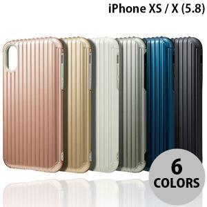 iPhoneX ケース スマホケース GRAMAS iPhone XS / X COLORS Rib Hybrid Case グラマス ネコポス送料無料 ec-kitcut