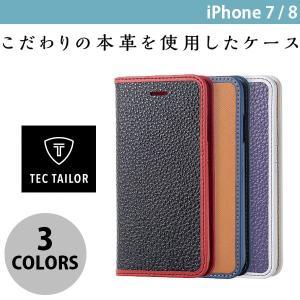 iPhone8 ケース スマホケース エレコム iPhone 8 / 7 用 レザーカバー スプリットレザー Tec Tailor  ネコポス送料無料|ec-kitcut