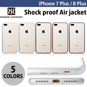 iPhone8Plus/ iPhone7Plus ケース PowerSupport iPhone 8 Plus / 7 Plus Shock proof Air jacket パワーサポート ネコポス送料無料|ec-kitcut