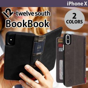 iPhoneX ケース Twelve South BookB...