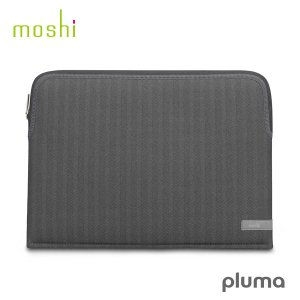 Macノート用スリーブケース moshi エヴォ MacBook Pro 13 Pluma Herringbone Gray mo-plm13-hb ネコポス不可|ec-kitcut