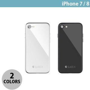 iPhone8 / iPhone7 スマホケース SwitchEasy iPhone 8 / 7 GLASS X ガラスxPCxTPUハイブリッドケース  スイッチイージー ネコポス可 ec-kitcut