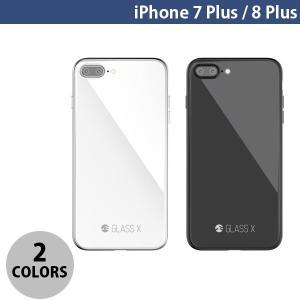 iPhone8Plus/ iPhone7Plus ケース SwitchEasy iPhone 8 Plus / 7 Plus GLASS X ガラスxPCxTPUハイブリッドケース  スイッチイージー ネコポス可 ec-kitcut