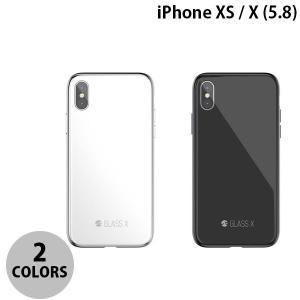 iPhoneXS / iPhoneX ケース SwitchEasy iPhone XS / X GLASS X ガラスxPCxTPUハイブリッドケース スイッチイージー ネコポス送料無料 ec-kitcut