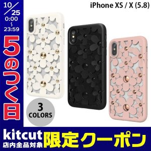 iPhoneXS / iPhoneX ケース SwitchEasy iPhone XS / X Fleur  フルール  PCxTPUハイブリッドケース スイッチイージー ネコポス送料無料 花柄|ec-kitcut