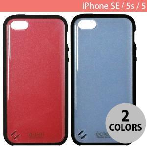 iPhoneSE / iPhone5s ケース エレコム ELECOM iPhone SE / 5s / 5 TOUGH SLIM ガラストップ風 女子向 ブルー PM-A18STSGJBU ネコポス不可|ec-kitcut