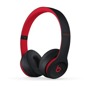 beats by dr.dre ビーツ バイ ドクタードレー Solo3 Wirelessオンイヤーヘッドフォン - The Beats Decade Collection - Defiant Black-Red ネコポス不可|ec-kitcut