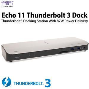 その他周辺機器 SONNET ソネット テクノロジー Echo 11 Thunderbolt 3 Dock ECHO-DK11-T3 ネコポス不可|ec-kitcut