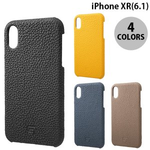 iPhoneXR ケース GRAMAS iPhone XR Shrunken-Calf Leather Shell Case  グラマス ネコポス不可|ec-kitcut