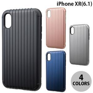 iPhoneXR ケース GRAMAS iPhone XR Rib Hybrid Shell case  グラマス ネコポス不可|ec-kitcut