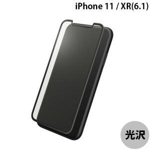 GRAMAS グラマス iPhone 11 / XR Protection 3D Full Cover Glass Bluelight Cut ドラゴントレイル ブルーライトカット シルクブラック ネコポス送料無料 ec-kitcut