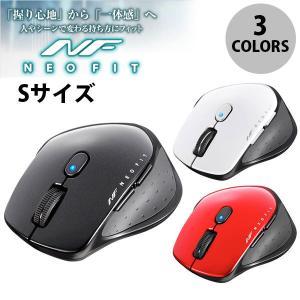 マウス BUFFALO NEO FITマウス 無線 BlueLED光学式 静音 5ボタン Sサイズ  バッファロー ネコポス不可|ec-kitcut