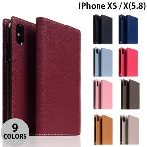 iPhoneXS / iPhoneX ケース SLG Design iPhone XS / X Full Grain Leather Case エスエルジー デザイン ネコポス不可|ec-kitcut