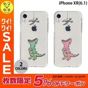 iPhoneXR ケース Dparks iPhone XR ソフトクリアケース ファンタジー はらぺこザウルス  ディーパークス ネコポス可|ec-kitcut