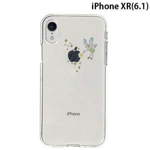 iPhoneXR ケース Dparks ディーパークス iPhone XR ソフトクリアケース ティンカーベル DS14814i61 ネコポス可 ec-kitcut