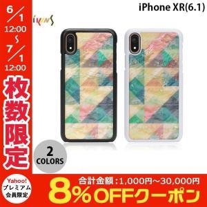iPhoneXR ケース Ikins iPhone XR 天然貝ケース Mosaic  アイキンス ネコポス送料無料|ec-kitcut