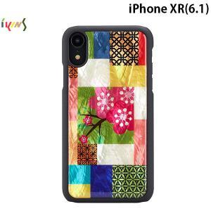iPhoneXR ケース Ikins アイキンス iPhone XR 天然貝ケース Cherry Blossom I13954i61 ネコポス送料無料|ec-kitcut