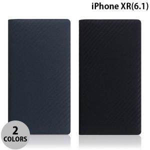 iPhoneXR ケース SLG Design iPhone XR carbon leather case  エスエルジー デザイン ネコポス不可|ec-kitcut