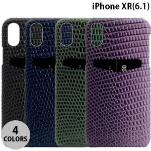 iPhoneXR ケース SLG Design iPhone XR Lizard Leather Back Case  エスエルジー デザイン ネコポス不可|ec-kitcut