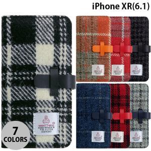 iPhoneXR ケース SLG Design iPhone XR Harris Tweed Diary  エスエルジー デザイン ネコポス不可|ec-kitcut