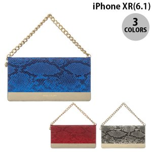 iPhoneXR ケース Eblouir iPhone XR Gold trim Wallet  エブルイ ネコポス不可|ec-kitcut