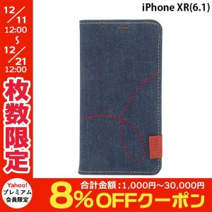iPhoneXR ケース ZENUS ゼヌス iPhone XR Denim Stitch Diary Z14224i61 ネコポス不可|ec-kitcut