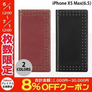 iPhoneXSMax ケース Eblouir iPhone XS Max Dot Studs Diary  エブルイ ネコポス不可 ec-kitcut