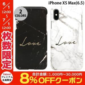 iPhoneXSMax ケース Happymori iPhone XS Max Marble love  ハッピーモリー ネコポス可|ec-kitcut