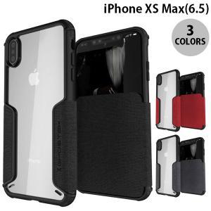 iPhoneXSMax ケース GHOSTEK iPhone XS Max Exec 3 カードスロット付きケース ゴーステック ネコポス送料無料|ec-kitcut