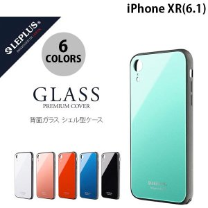 iPhoneXR ケース LEPLUS iPhone XR 背面ガラスシェルケース SHELL GLASS  ルプラス ネコポス送料無料|ec-kitcut