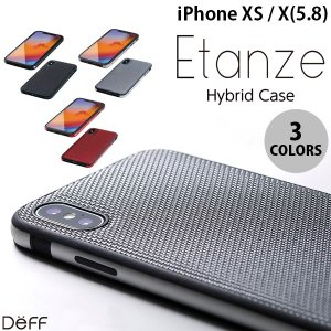 iPhoneXS / iPhoneX ケース Deff iPhone XS / X Hybrid C...