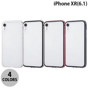 iPhoneXR バンパー Ray Out iPhone XR アルミバンパー+背面パネル  レイアウト ネコポス送料無料|ec-kitcut