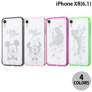 iPhoneXR ケース Ray Out iPhone XR ディズニー ハイブリッド  レイアウト ネコポス可 ec-kitcut