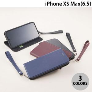 iPhoneXSMax ケース Simplism iPhone XS Max  FlipNote Slim  クラリーノ フリップノートケース シンプリズム ネコポス不可|ec-kitcut