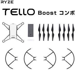 Ryze Tech ライズテック TELLO トイドローン Boost Combo CP.TL.00000013.01 ネコポス不可 正規取扱店|ec-kitcut