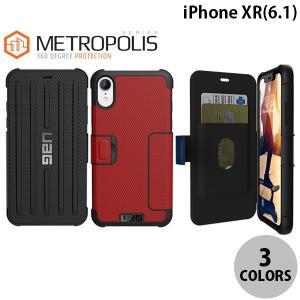 iPhoneXR ケース UAG iPhone XR METROPOLIS フォリオケース  ユーエージー ネコポス送料無料|ec-kitcut